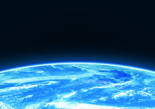宇宙空間 地球の素材 [FYI00279462]