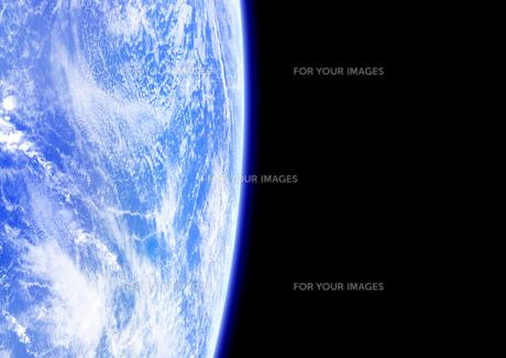 宇宙空間 地球の素材 [FYI00279466]