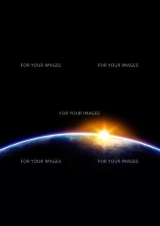 輝く地球の素材 [FYI00279469]