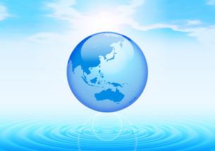 地球のイメージの素材 [FYI00279471]
