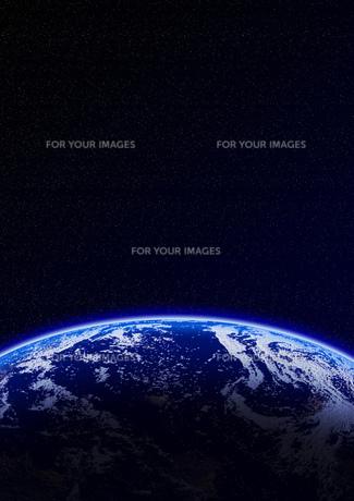 宇宙空間 地球の素材 [FYI00279476]