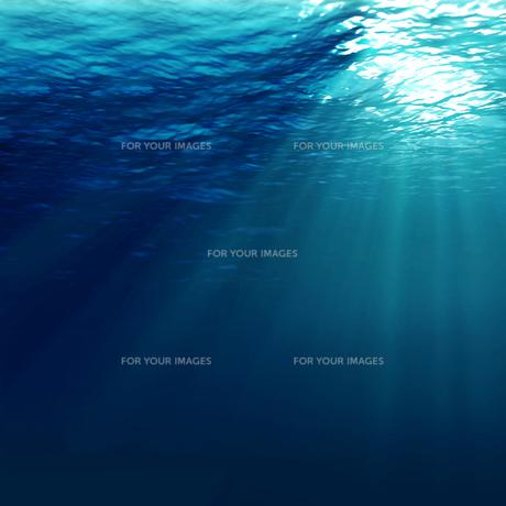 水中に射し込む光の素材 [FYI00279516]