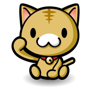 猫のキャラクターの素材 [FYI00279520]