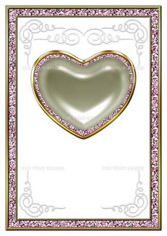 ハートの宝石の背景素材の素材 [FYI00279541]