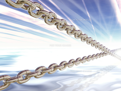 鎖のイメージの素材 [FYI00279577]