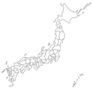 日本地図の写真素材 [FYI00279748]