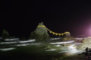 二見ヶ浦 夫婦岩の写真素材 [FYI00280079]