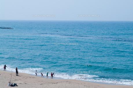青い日本海岸の写真素材 [FYI00280110]