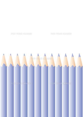 色鉛筆_Blueの写真素材 [FYI00280142]
