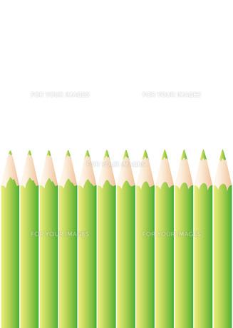 色鉛筆_Greenの写真素材 [FYI00280150]