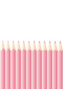 色鉛筆_Pinkの写真素材 [FYI00280153]