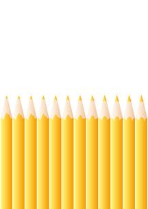 色鉛筆_Yellowの写真素材 [FYI00280156]