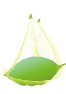 葉を運ぶ小鳥のつがい_タテの写真素材 [FYI00280177]