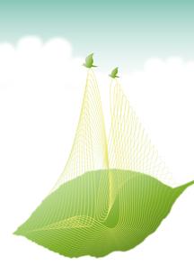 葉を運ぶ小鳥のつがい_skyの写真素材 [FYI00280185]