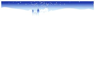 空、家、家族_冬・夜の写真素材 [FYI00280190]