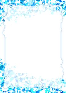 青いクールな背景イラストの写真素材 [FYI00280193]