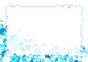 青いクールな背景イラスト_横の写真素材 [FYI00280194]