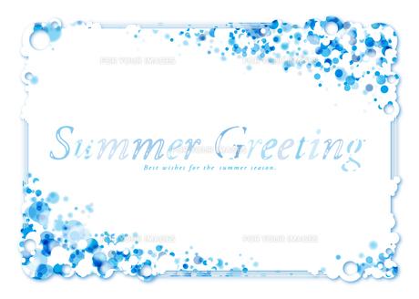 Summer Greetingの写真素材 [FYI00280195]