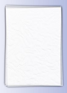 白い紙_Blueの写真素材 [FYI00280197]