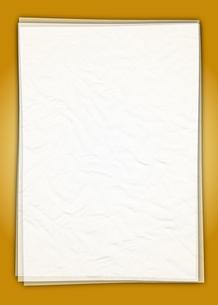 白い紙_Goldの写真素材 [FYI00280203]