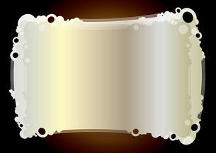ポップな背景_ホワイトゴールドブロンズの写真素材 [FYI00280211]