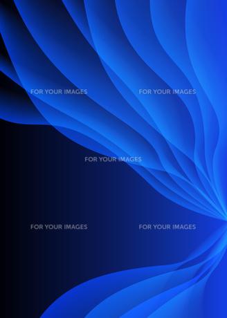 背景素材_幻想的な青いイメージの素材 [FYI00280226]
