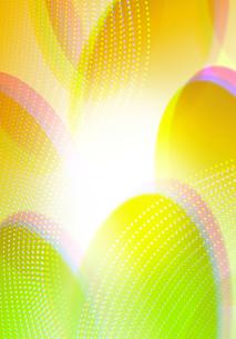 カラフルな背景_楕円と水玉の写真素材 [FYI00280228]