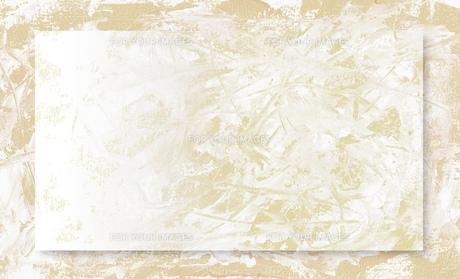 クラフト紙にホワイトペインティングの素材 [FYI00280237]
