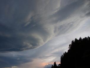 つるし雲の写真素材 [FYI00280280]