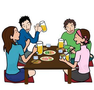 若者たちの飲み会の素材 [FYI00280353]