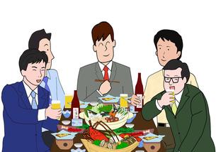 会社の宴会の写真素材 [FYI00280364]