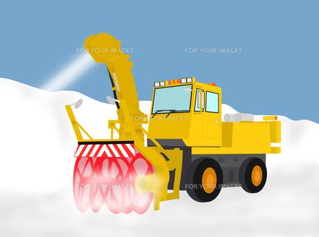 除雪作業の素材 [FYI00280413]