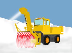 除雪作業の写真素材 [FYI00280413]