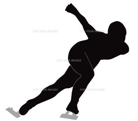 スピードスケートの写真素材 [FYI00280457]