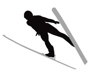 スキージャンプの写真素材 [FYI00280462]