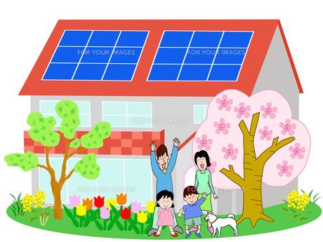 春のエコ住宅の素材 [FYI00280564]