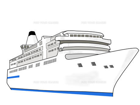 豪華客船の写真素材 [FYI00280612]