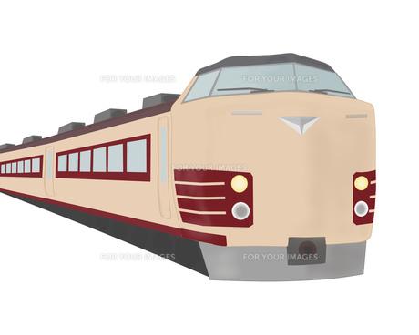特急列車の素材 [FYI00280617]