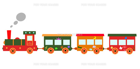 メルヘン列車の写真素材 [FYI00280623]