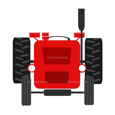 トラクターの素材 [FYI00280631]