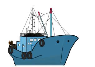 漁船の素材 [FYI00280633]
