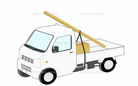 軽トラックで配達の素材 [FYI00280635]