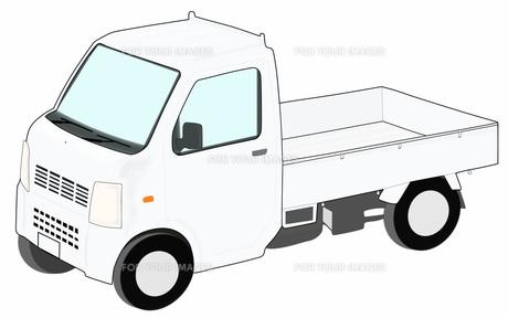 軽トラックの素材 [FYI00280636]
