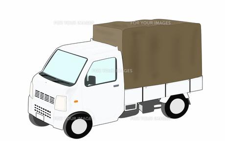 軽トラックの素材 [FYI00280638]