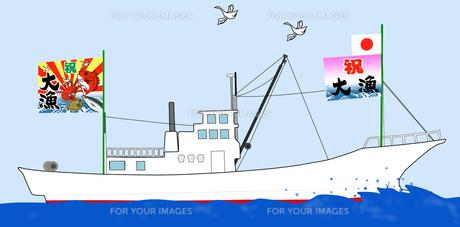 大漁船の素材 [FYI00280639]