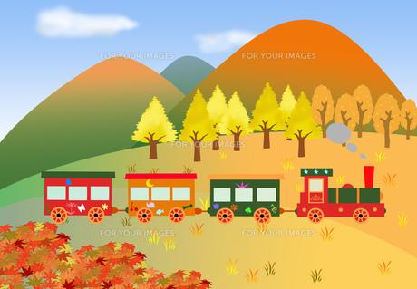 秋のメルヘン列車の写真素材 [FYI00280645]