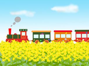 春のメルヘン列車の素材 [FYI00280648]