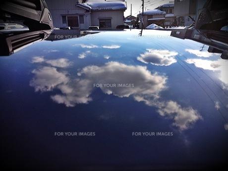 SKY ON THE CARの素材 [FYI00280693]