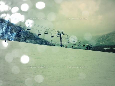 スキー場の素材 [FYI00280696]