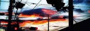 台風前の空の写真素材 [FYI00280727]
